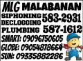 MALABANAN SIPHONING AND PLUMBING SERVICES 5832931/09096750605 need Jobs & Services