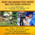 SIPHONING SLUDGE & MANUAL CLEANING SERVICES 475-0625/09128599915 need Jobs & Services