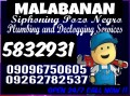 Malabanan Siphoning pozo negro and Plumbing Services 5832931 need Others