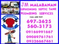 JM MALABANAN SIPHONING POZO NEGRO SERVICES 697-3625 need Jobs & Services